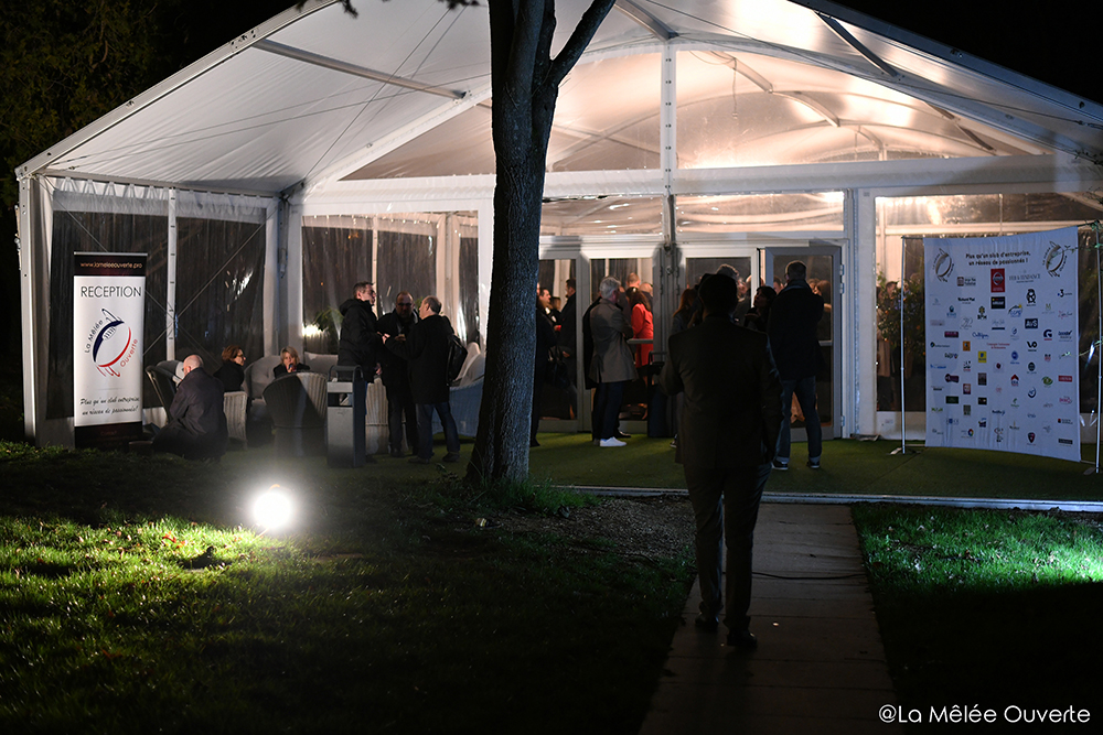 Photo soirée domaine de Montjoie